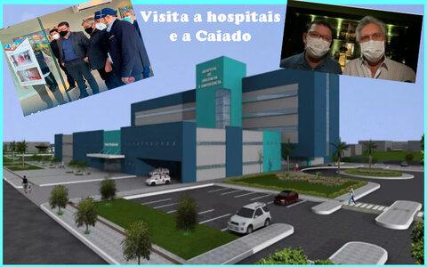 Rondônia quer um Heuro como os grandes hospitais + Rondônia cancela Rural Show + Servidores negam supersalários