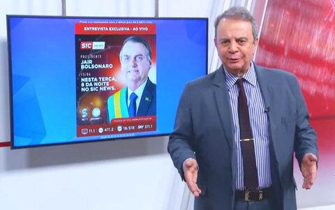 Bolsonaro, direto de Brasília participa do SIC NEWS, nesta terça (15/06)