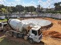 Saneamento avança em Ariquemes: empresa de saneamento conclui a primeira etapa de construção do novo reservatório de água tratada