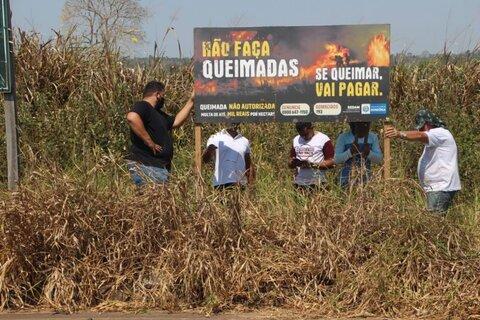 Ações da campanha de combate às queimadas em Rondônia são discutidas com órgãos de controle ambiental