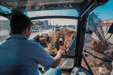 Nove bairros de Porto Velho recebem obras de infraestrutura nesta quinta-feira