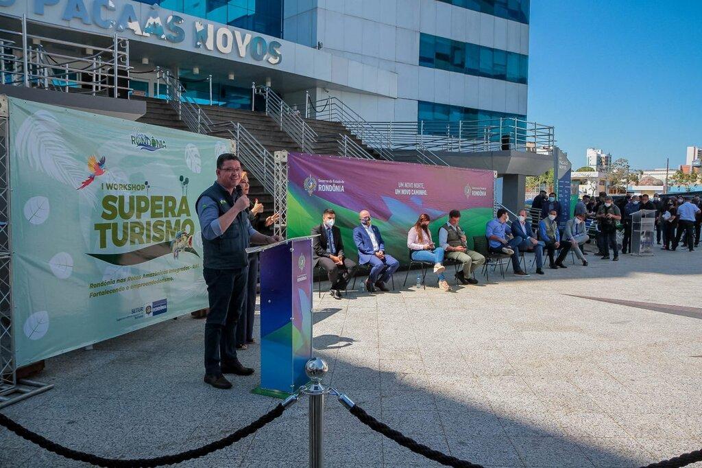 Governador Marcos Rocha agradece visita do ministro do turismo, Gilson Machado Neto, a Rondônia - Gente de Opinião