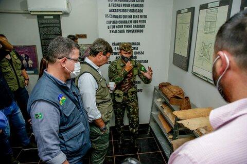 Em Rondônia, ministro do turismo destaca importância do Forte Príncipe da Beira; setor turístico será fortalecido