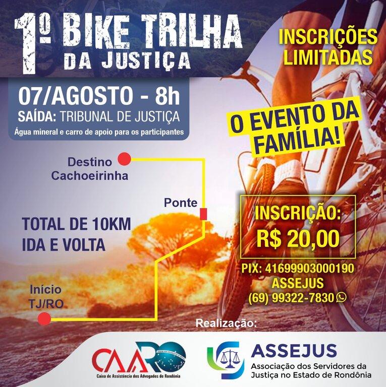 Vem aí o 1º Bike Trilha da Justiça de Rondônia  - Gente de Opinião