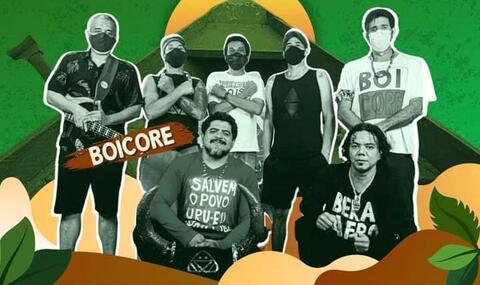 Banda Quilomboclada lança videoclipe da música Boi Core