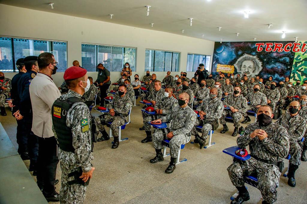 """Com o reforço de mais 70 policiais que concluíram missão no Amazonas a """"Operação Rondônia"""" dobra a capacidade de atuação da Força Nacional no Estado - Gente de Opinião"""