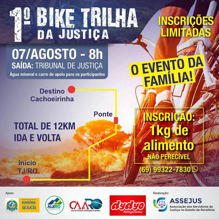 Assejus fecha parceria com a Dydyo para o 1º Bike Trilha da Justiça - Gente de Opinião
