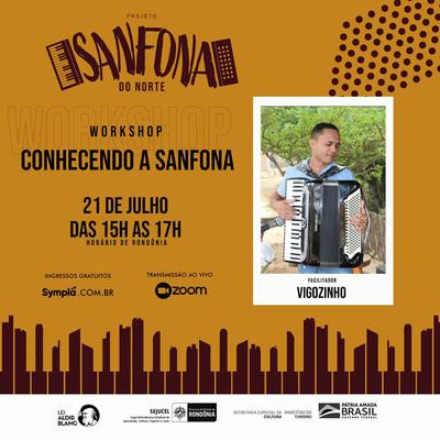 """Projeto Caixa Mágica oferece workshop """"Conhecendo a Sanfona"""""""