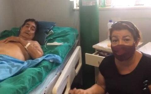 Acompanhantes denunciam as precariedades do Hospital de Base