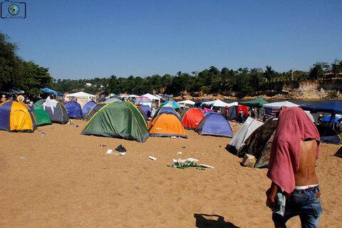Lenha na Fogueira com a Praia de Vila Calderita e a venda de camarotes para o Carnaval 2022