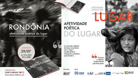 """""""Lugar de Afeto"""": professor da unir lança livro fotográfico de Rondônia"""