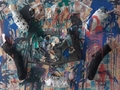 Artista de Guajará-Mirim expõe críticas na Ivan Marrocos