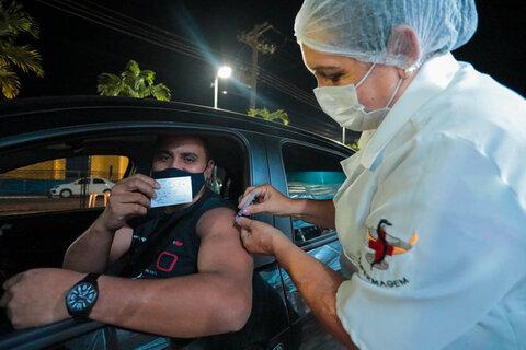 8ª Edição do drive-thru da vacinação será nesta sexta-feira em Porto Velho