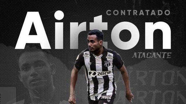 Com 22 anos, Airton chega como esperança de gol ao Ceará  - Gente de Opinião