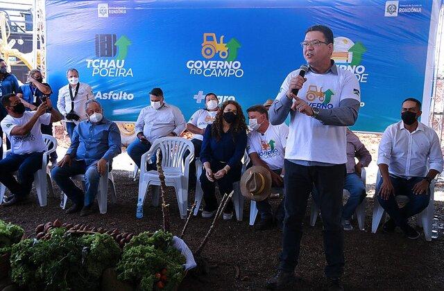 """Produtores rurais do setor chacareiro de Porto Velho vão ser beneficiados com o projeto """"Governo no Campo"""""""