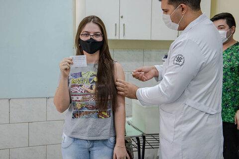 Prefeitura leva imunização contra a Covid-19 ao bairro Marcos Freire em Porto Velho