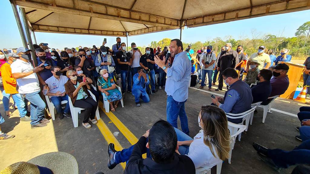 Ponte sobre o rio Jamari, na BR-421, é entregue e presidente Alex Redano destaca importância da obra - Gente de Opinião