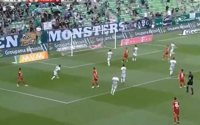 Matheus Leoni marca mais um gol de placa, na Hungria - Gente de Opinião