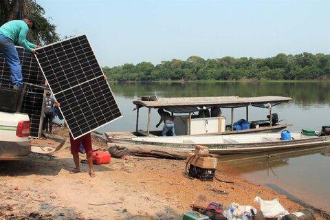 Governo de Rondônia leva energia solar para escola em comunidade da Reserva Extrativista do Rio Pacaás Novos