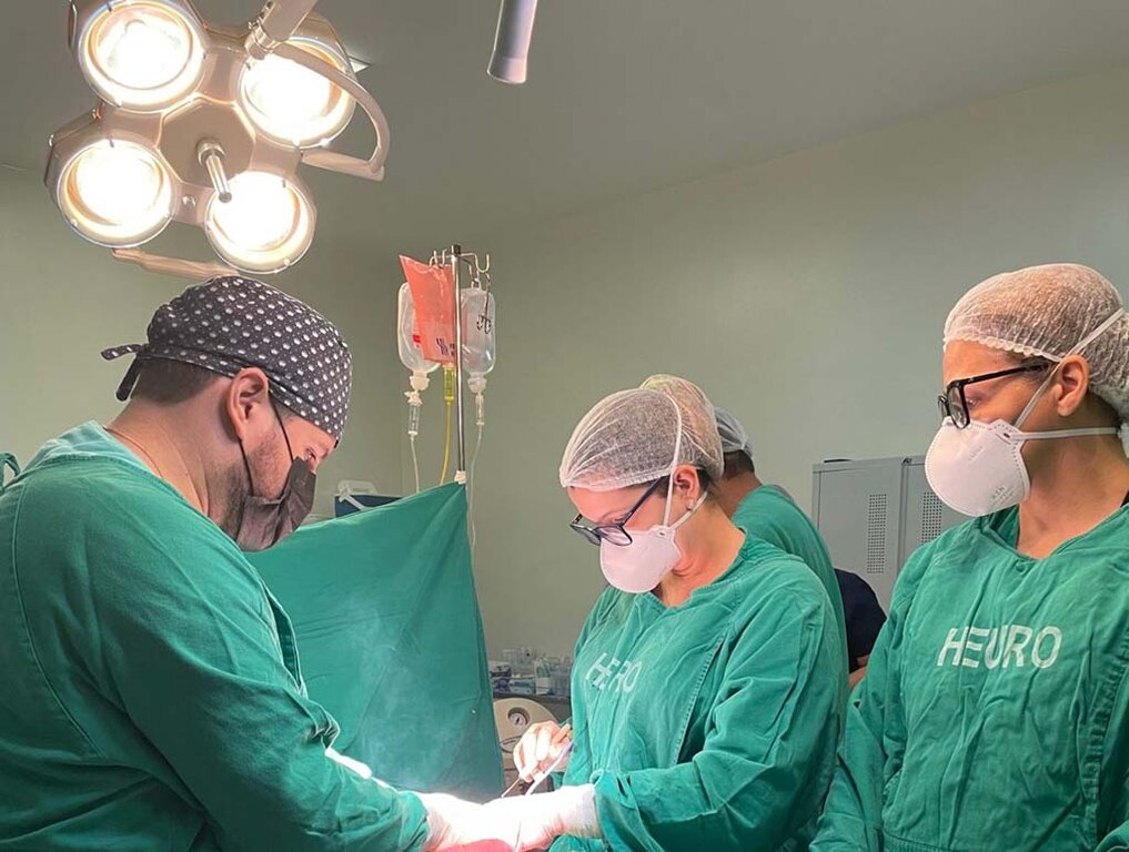 Cirurgia foi realizada no Hospital de Urgência e Emergência Regional de Cacoal - Gente de Opinião