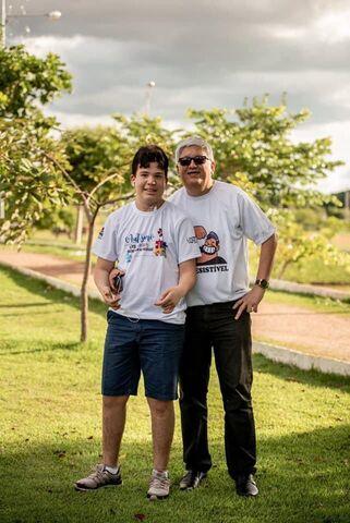 Edimilson Araújo, pai do João hoje com 16 anos - Gente de Opinião