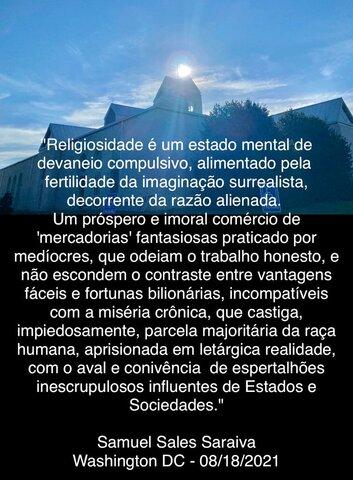 Religiosidade é um estado mental de devaneio compulsivo - Gente de Opinião