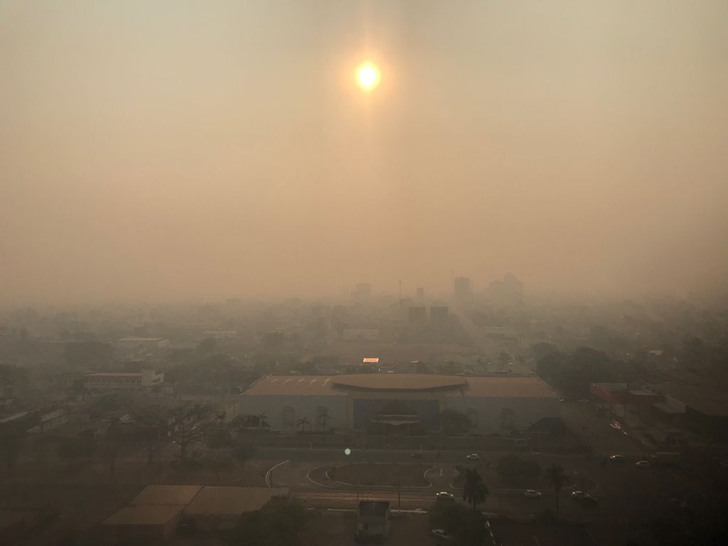 Rondônia e sua capital ocupam nesta sexta-feira, 20, o sexto lugar no ranking de focos de calor nas últimas 48 horas.  - Gente de Opinião