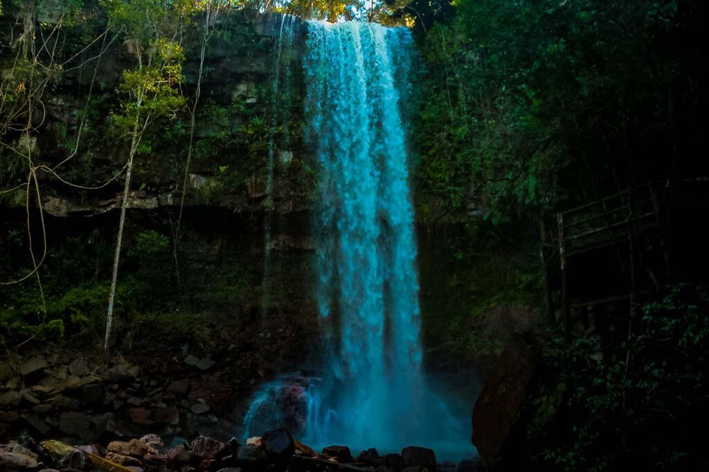 Uma das Cachoeiras do Vale das Cachoeiras, ponto de turismo importante em Rondônia, jun/2021 - Gente de Opinião