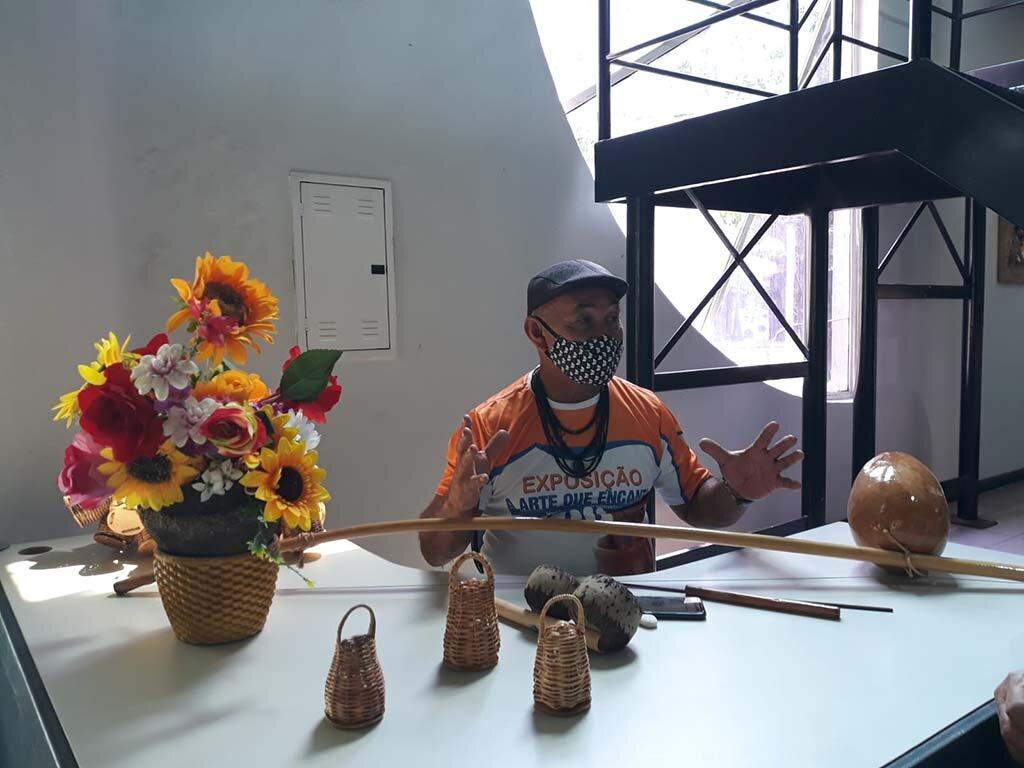 Raimundo Ramos Soares o Mestre e a Exposição A Arte que Encanta - Gente de Opinião
