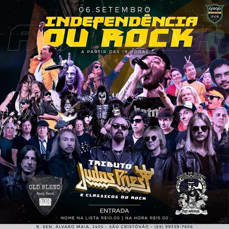 Independência ou Rock - É hoje no Grego Original com duas atrações - Gente de Opinião