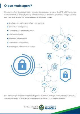 Sefin disponibiliza cartilha sobre a Lei Geral de Proteção de Dados Pessoais