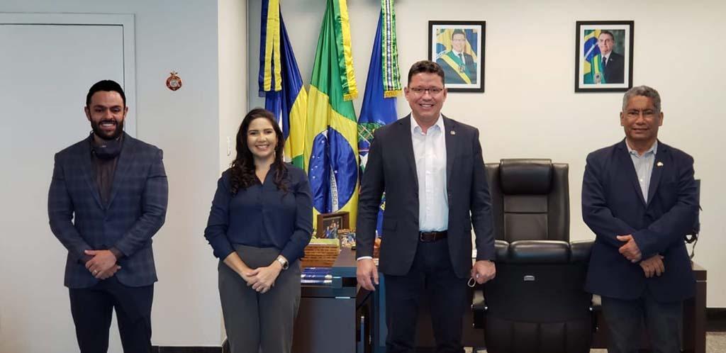 Posse ocorreu na tarde desta segunda-feira no gabinete do governador Marcos Rocha - Gente de Opinião