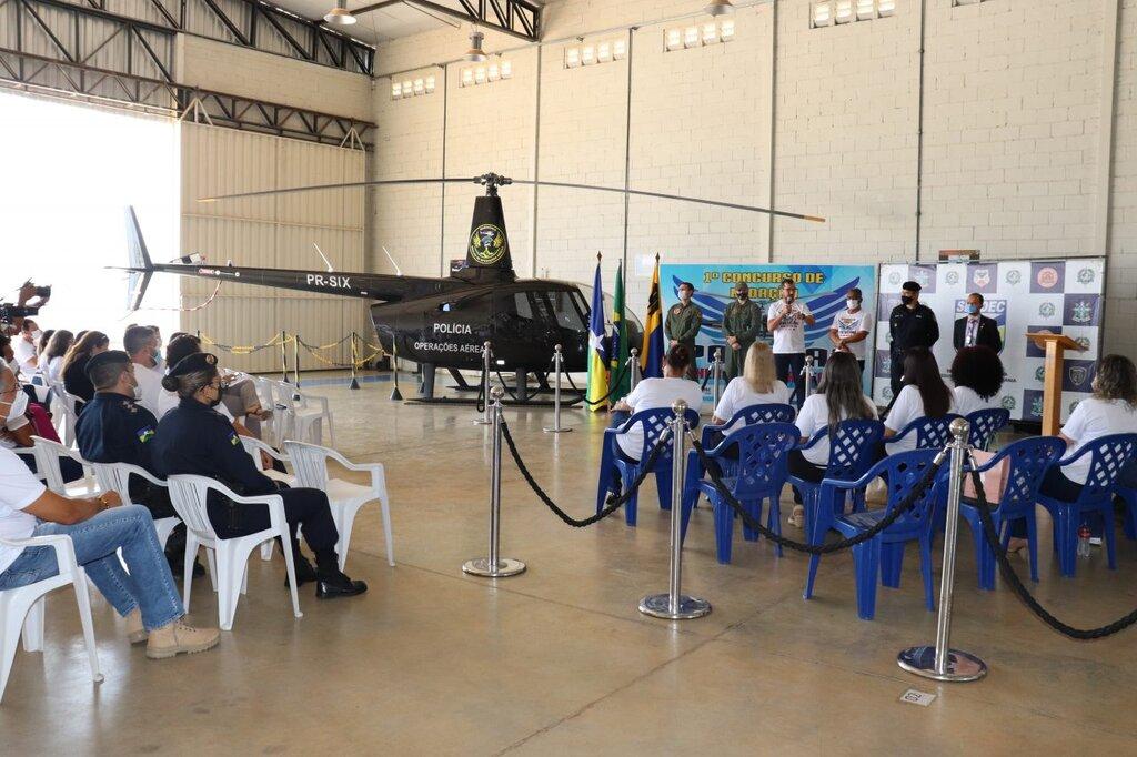 Lançamento do Concurso de Redação ocorreu no Núcleo de Operações Aéreas (NOA) em Porto Velho - Gente de Opinião