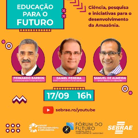 Educação para o futuro é o destaque em evento do Sebrae - Gente de Opinião