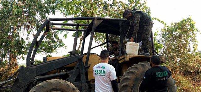 Sedam e Polícia Ambiental flagram equipamentos ilegais no Parque Serra dos Reis, em Costa Marques  - Gente de Opinião