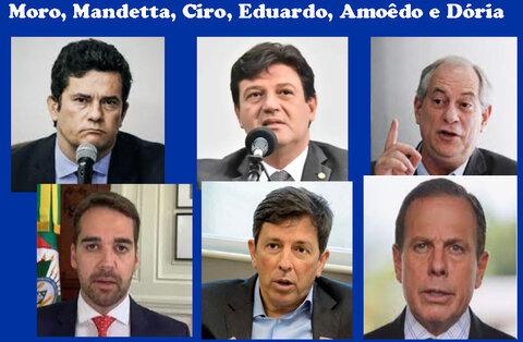 ampliam popularidade de Marcos Rocha + Partidos procuram uma terceira via + PGE do Estado não achou erros no projeto do novo Heuro