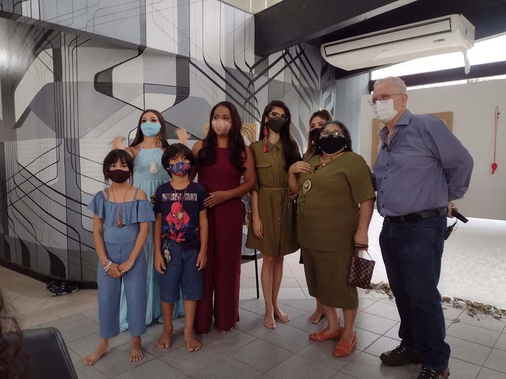 Lenha na Fogueira com estado de saúde do Mestre Bainha e a coleção Arte Eco Joias – Mulheres Amazônia - Gente de Opinião