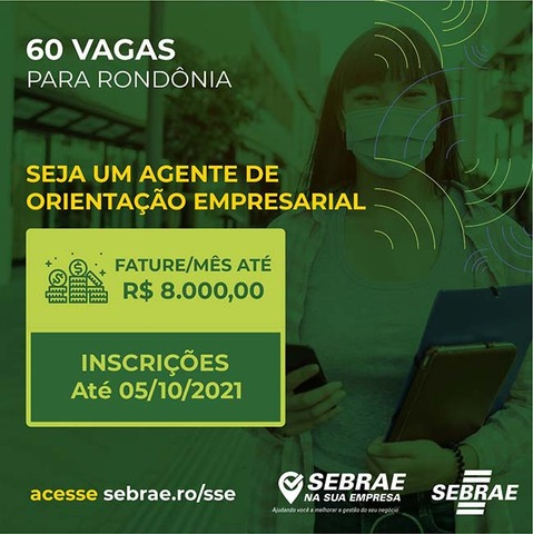 Sebrae lança edital para seleção de agentes de negócios - Gente de Opinião