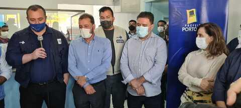 Everaldo Fogaça ressalta trabalho da Prefeitura durante inauguração de nova unidade de saúde municipal