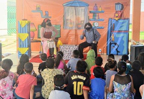 Cia Evolução participa de projeto social no Orgulho do Madeira