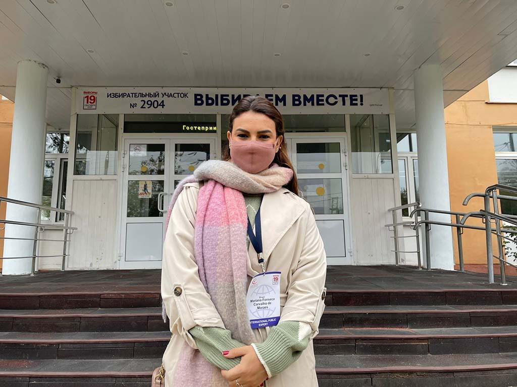 Eleições na Rússia: deputada Mariana Carvalho acompanhou pleito a convite da Câmara Cívica do País - Gente de Opinião