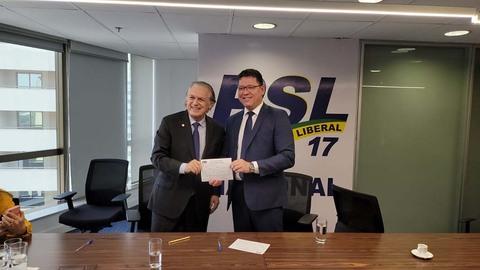 Marcos Rocha se filia ao PSL e assume presidência do partido em Rondônia