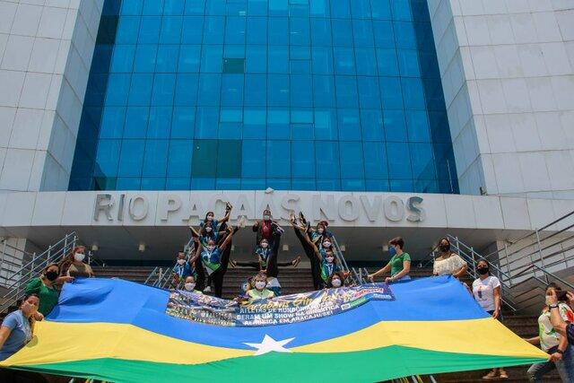 Rondônia foi representado por 13 atletas de ginástica aeróbica que conquistaram 14 medalhas - Gente de Opinião