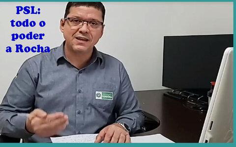 Marcos Rocha assume todo o poder no PSL + Projeto de Léo com Cristiane não deu certo + MDB espera pela decisão de Confúcio