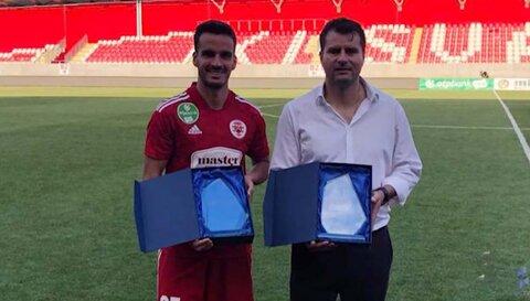 Gol de Matheus Leoni é eleito o mais bonito do mês no futebol húngaro