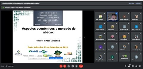 Curso capacita sobre produção de abacaxi em Rondônia