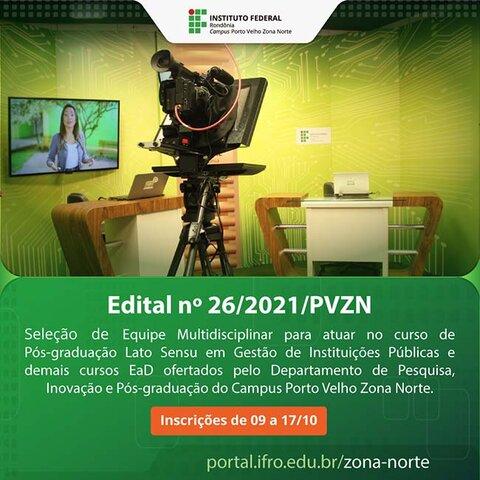 Campus Porto Velho Zona Norte abre inscrições em bolsas para atuação em cursos de pós-graduação  - Gente de Opinião
