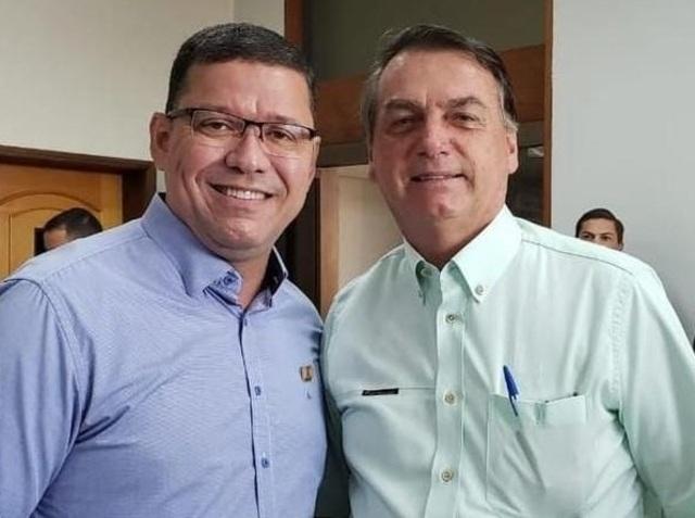 Bolsonaro e Marcos Rocha são aliados há tempos e caminham com agendas semelhantes - Gente de Opinião