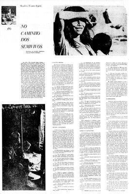 A Terceira Margem – Parte CCCXXVII - Expedição Centenária Roosevelt-Rondon 3ª Parte – XXXV  No Caminho dos Semivivos - V