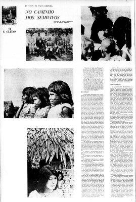 A Terceira Margem – Parte CCCXXVIII - Expedição Centenária Roosevelt-Rondon 3ª Parte – XXXVI  No Caminho dos Semivivos - VI